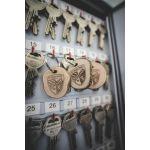 Holz Schlüsselanhänger