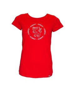 Damen Shirt Feuer&Rot