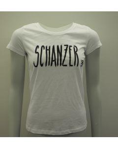 """Damen Shirt weiß """"Schanzer Style"""""""