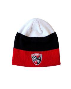 Mütze Schwarz Rot Weiss